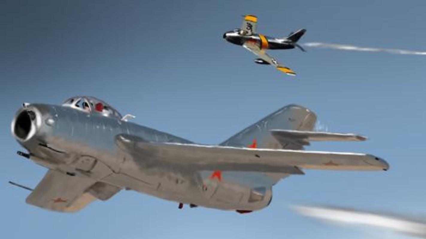F-86 My, khac tinh cua MiG-15 tren ban dao Trieu Tien-Hinh-10
