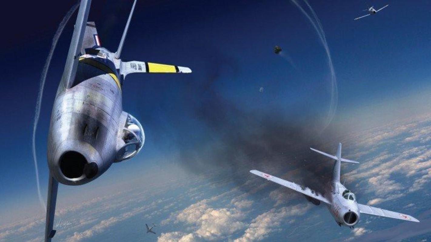 F-86 My, khac tinh cua MiG-15 tren ban dao Trieu Tien-Hinh-11