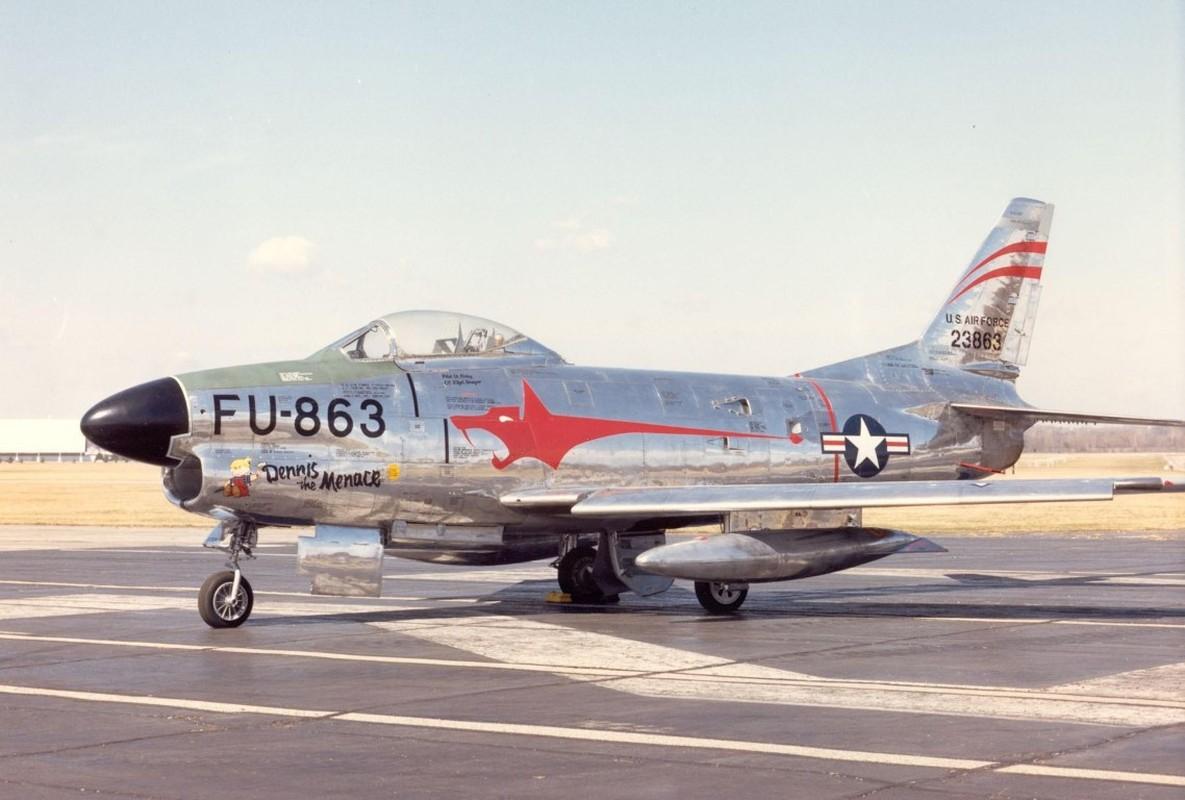 F-86 My, khac tinh cua MiG-15 tren ban dao Trieu Tien-Hinh-17