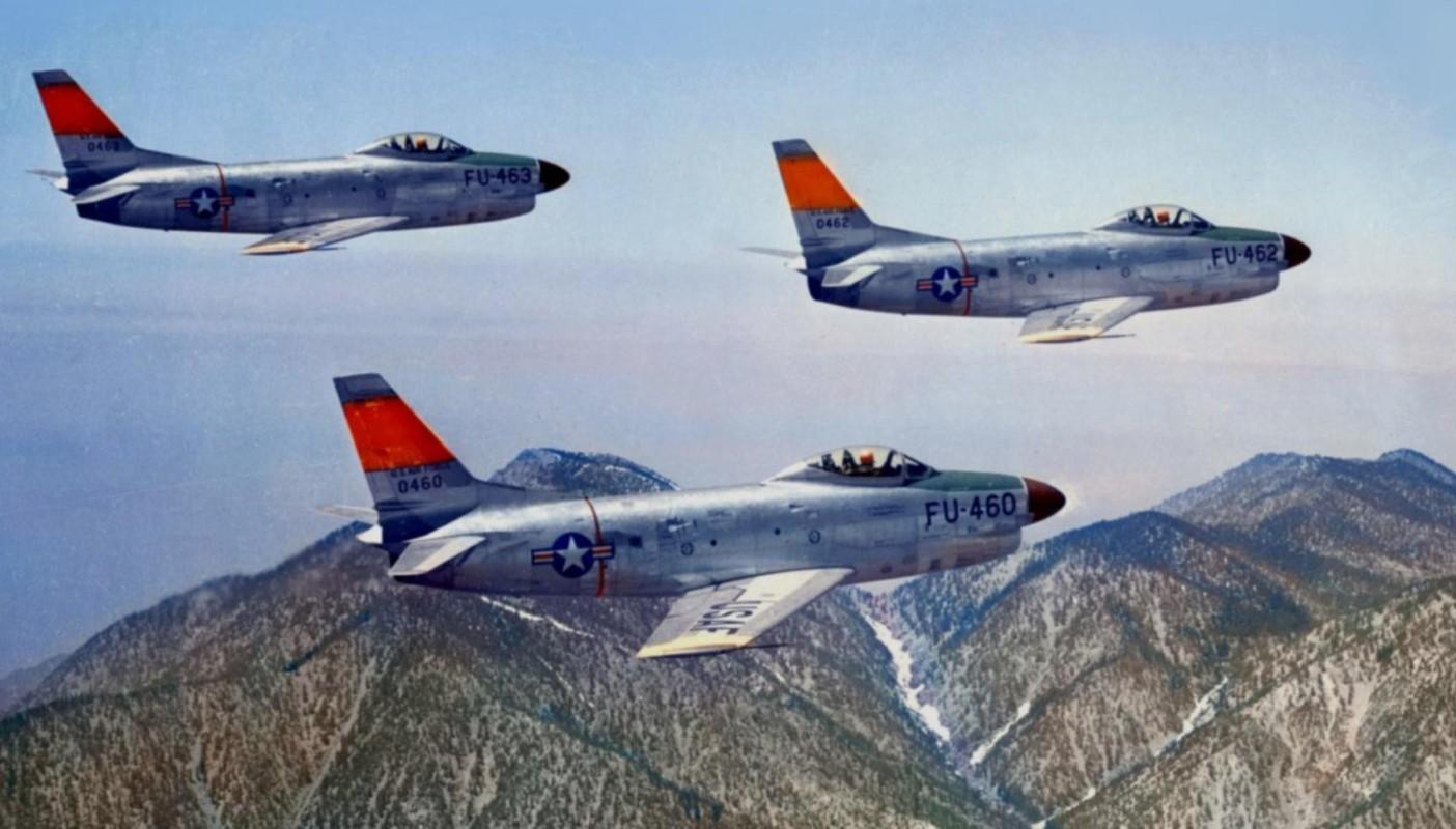 F-86 My, khac tinh cua MiG-15 tren ban dao Trieu Tien-Hinh-18