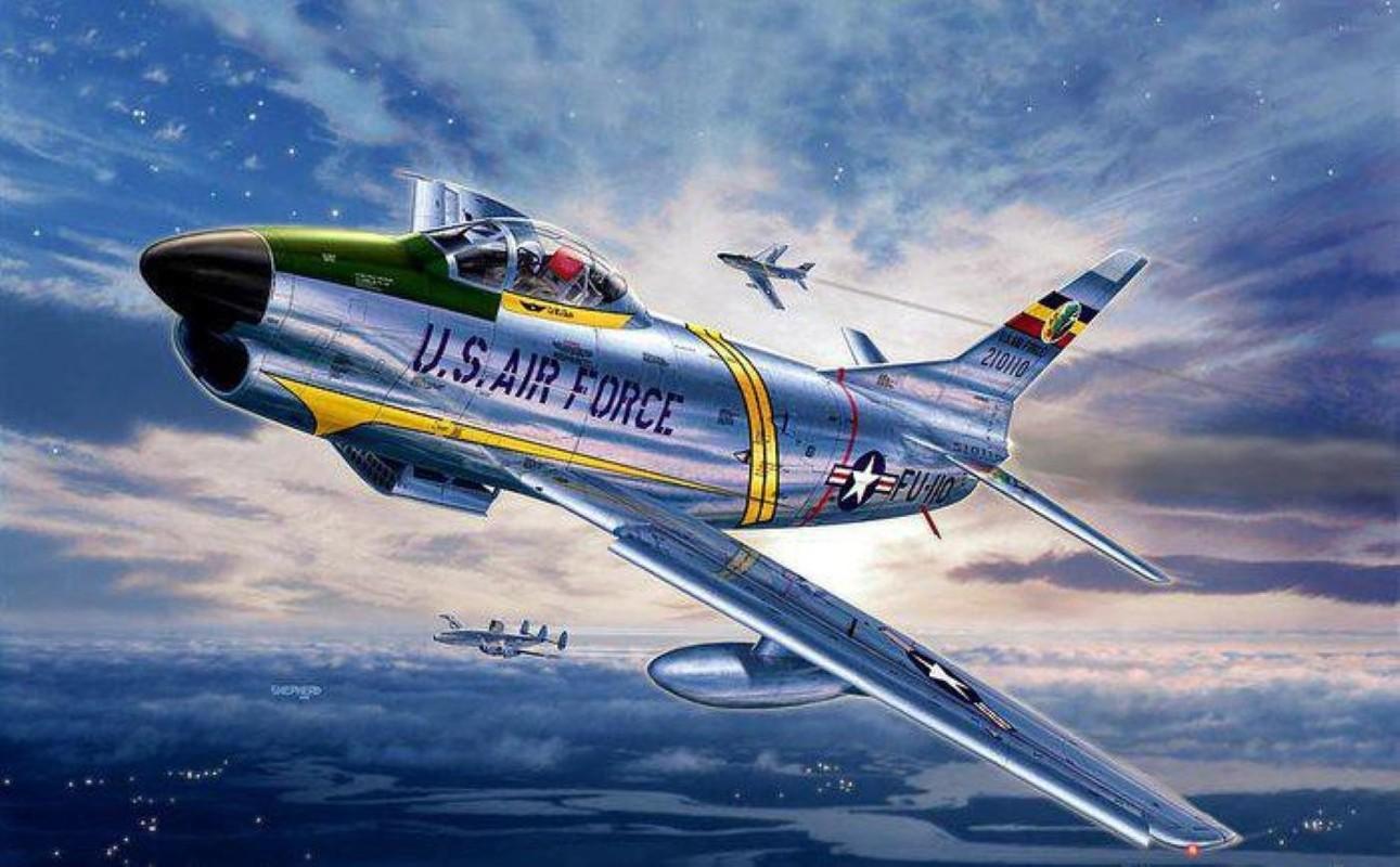 F-86 My, khac tinh cua MiG-15 tren ban dao Trieu Tien-Hinh-24