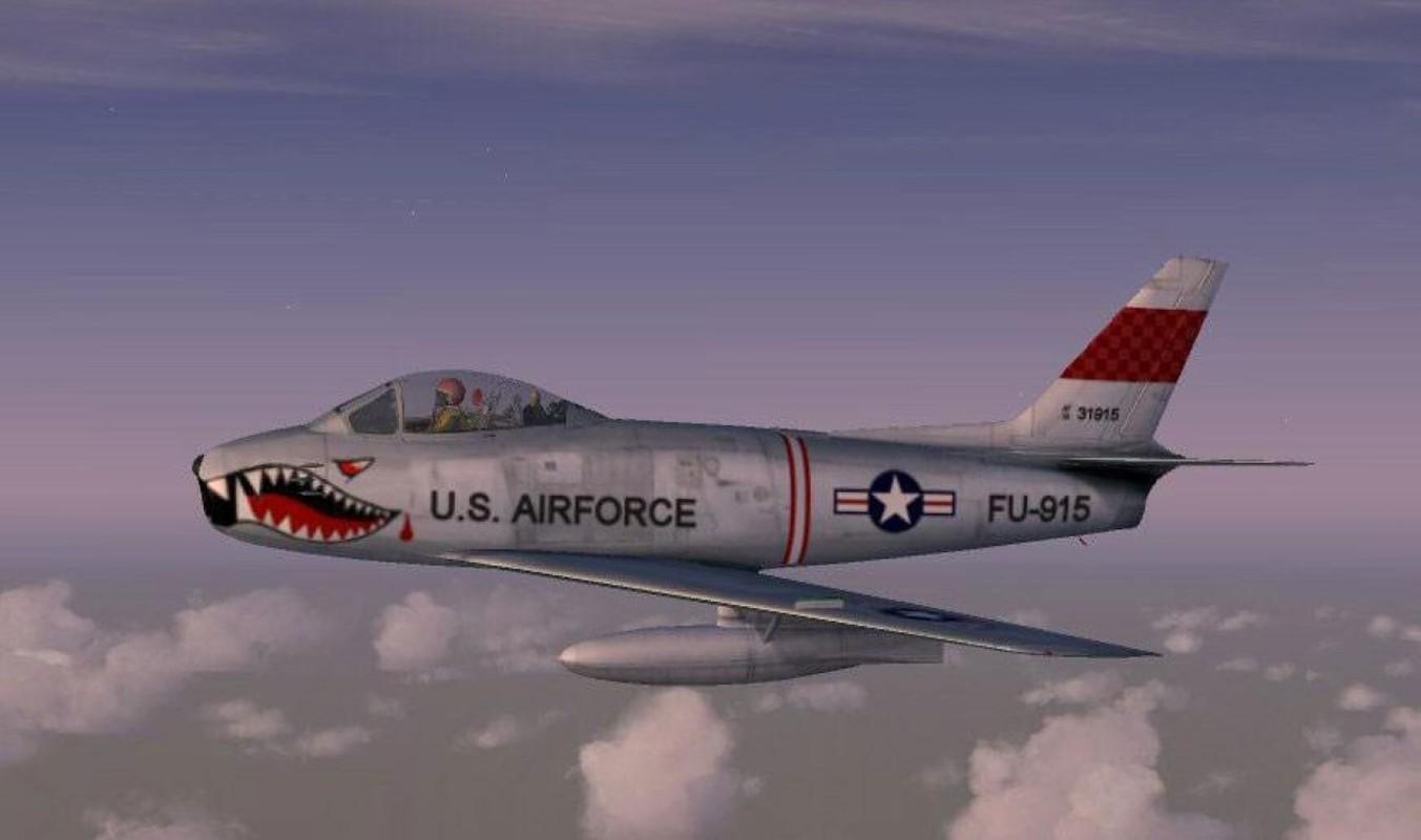 F-86 My, khac tinh cua MiG-15 tren ban dao Trieu Tien-Hinh-8