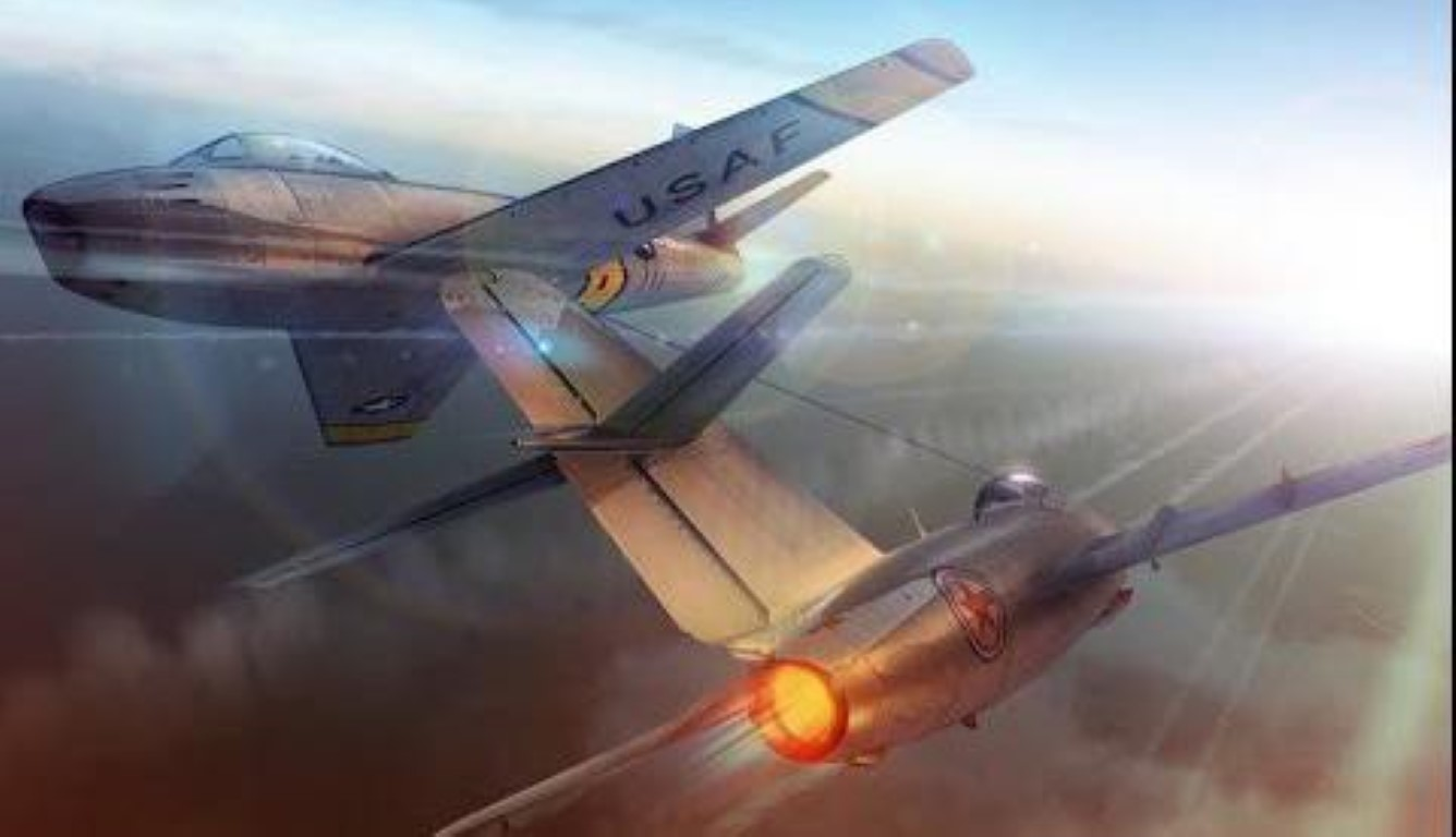 F-86 My, khac tinh cua MiG-15 tren ban dao Trieu Tien