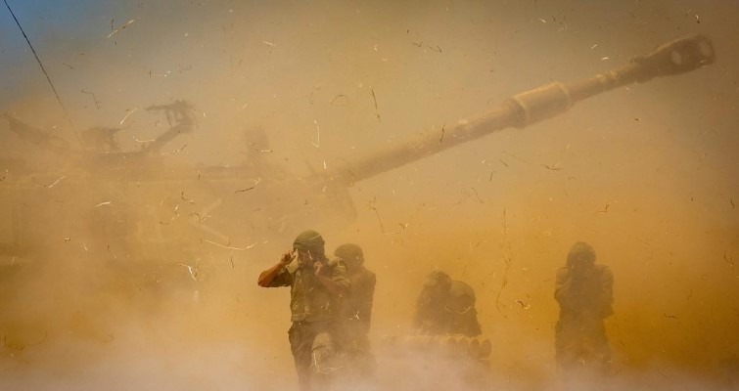 Israel dung phao tu hanh My na dan du doi vao dai Gaza-Hinh-5