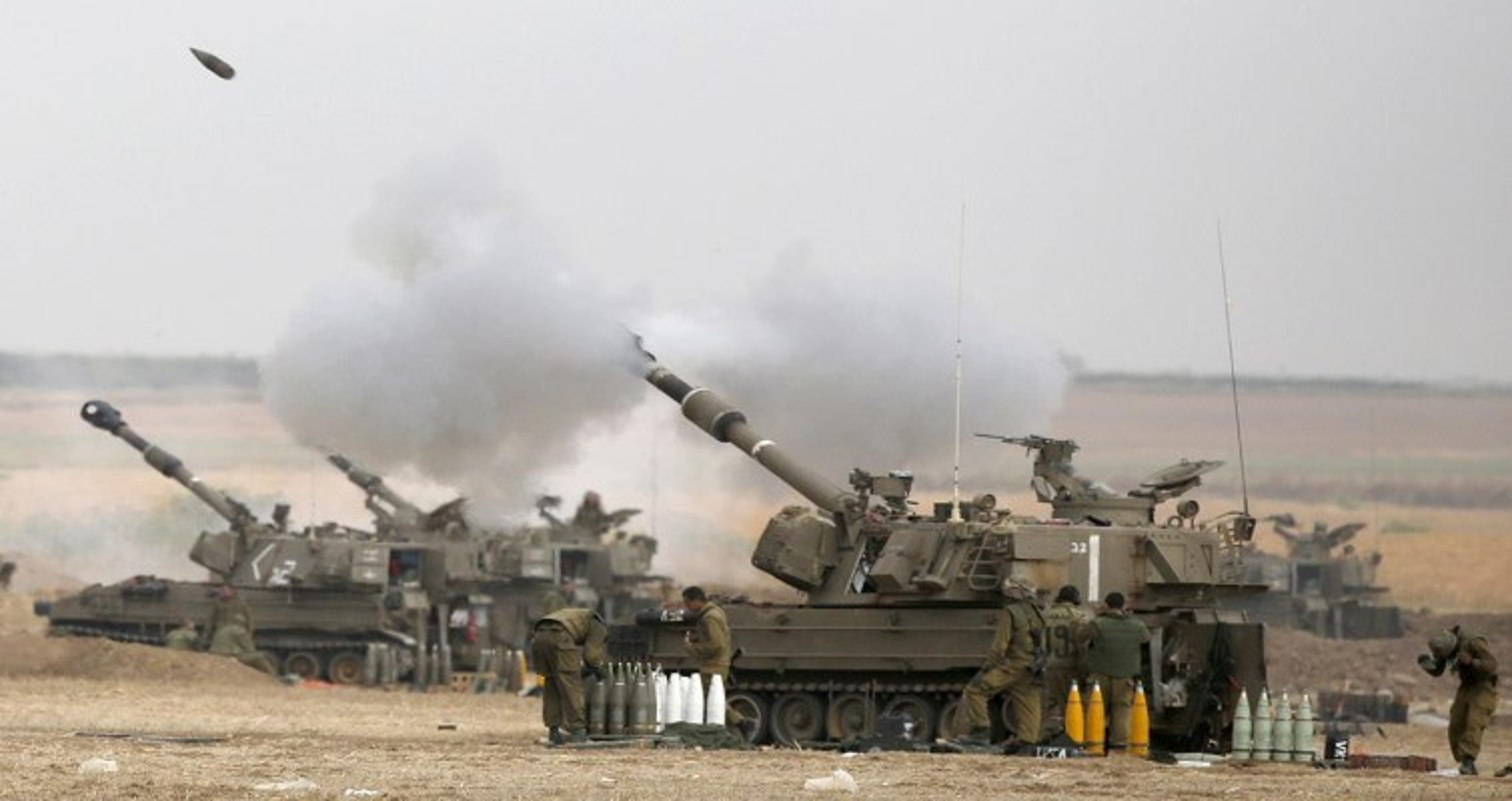 Israel dung phao tu hanh My na dan du doi vao dai Gaza-Hinh-8
