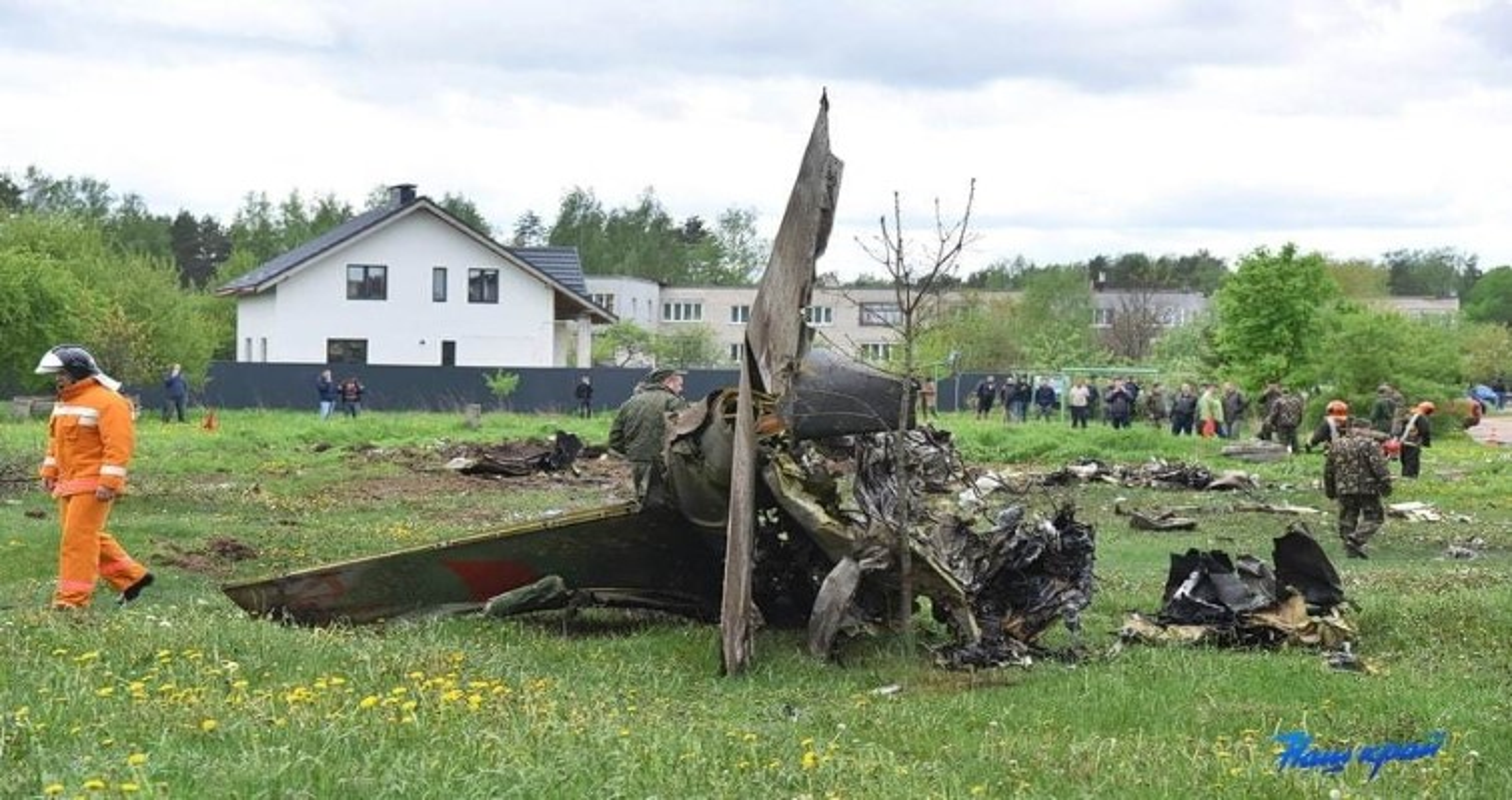 Hien truong huan luyen co Yak-130 roi o Belarus, khong ai song sot-Hinh-3