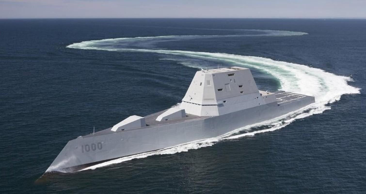 Zumwalt-class stealth destroyers