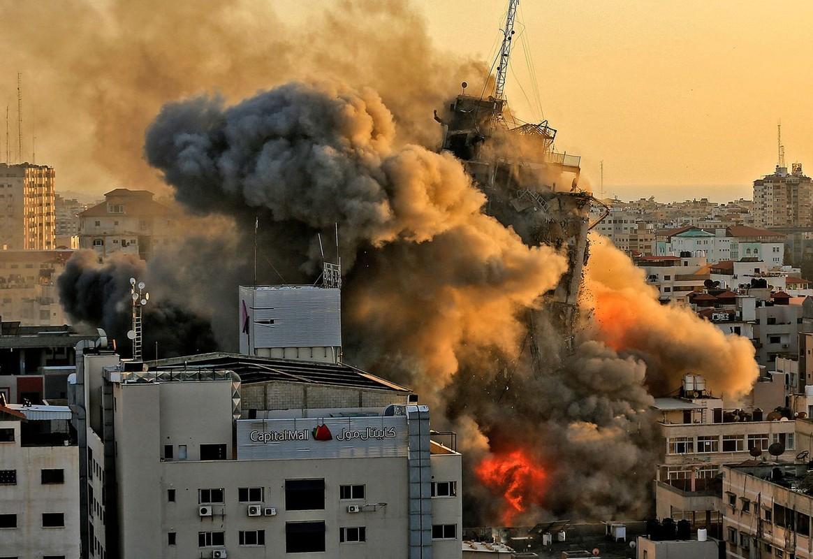 Nhung khoanh khac tu chien trong cuoc chien giua Israel va Hamas