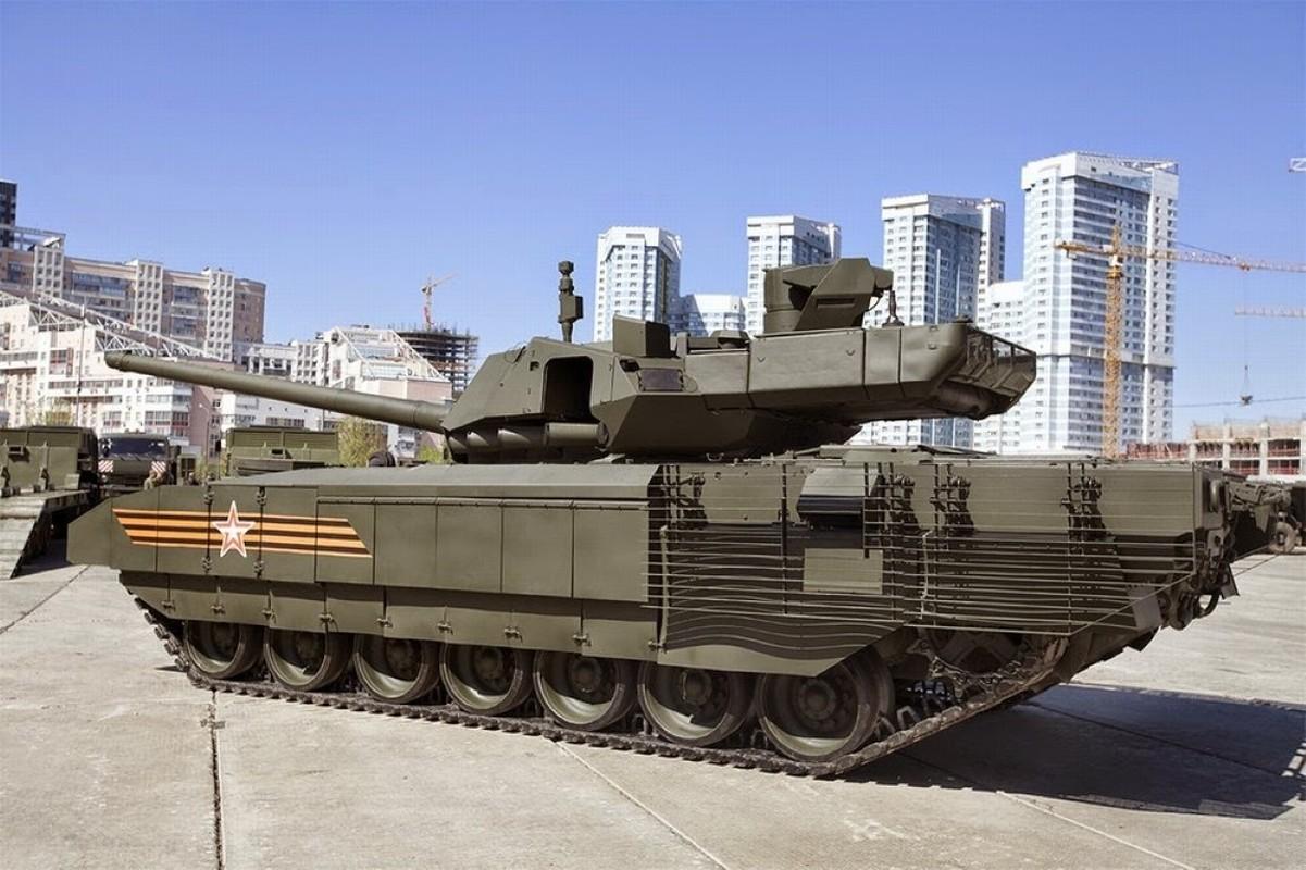 Soc: An Do doi mua 1770 sieu xe tang T-14 Armata tu Nga-Hinh-13
