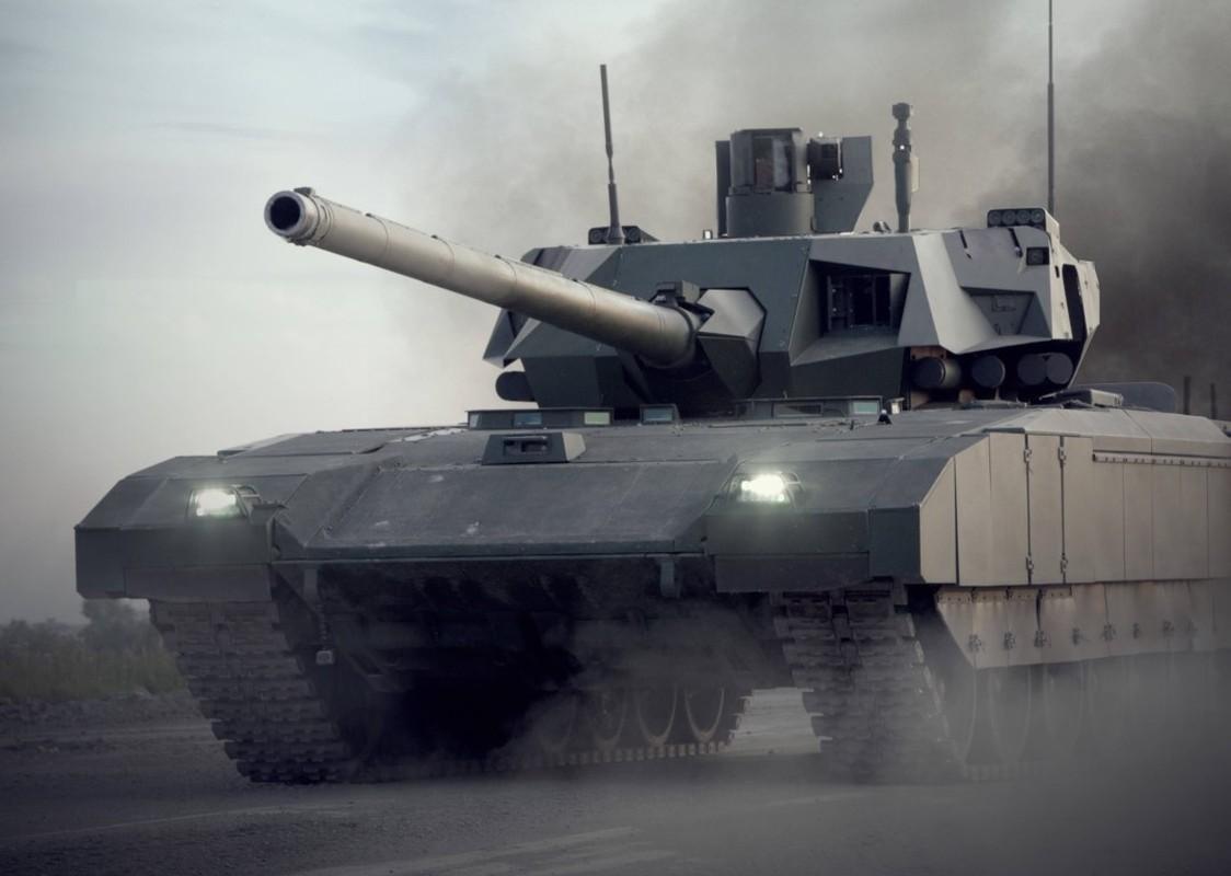 Soc: An Do doi mua 1770 sieu xe tang T-14 Armata tu Nga-Hinh-14