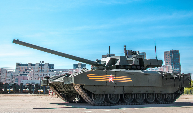 Soc: An Do doi mua 1770 sieu xe tang T-14 Armata tu Nga-Hinh-2