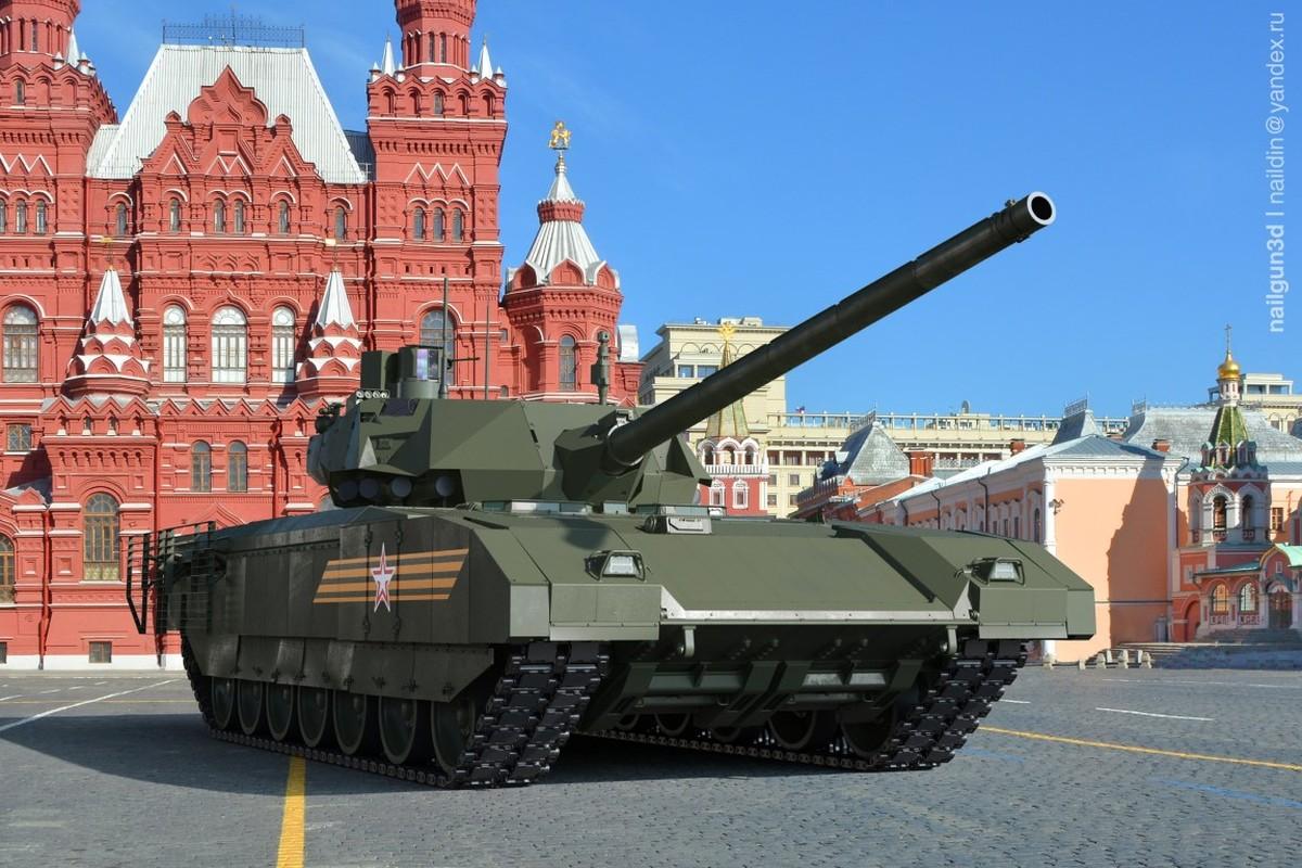 Soc: An Do doi mua 1770 sieu xe tang T-14 Armata tu Nga-Hinh-9