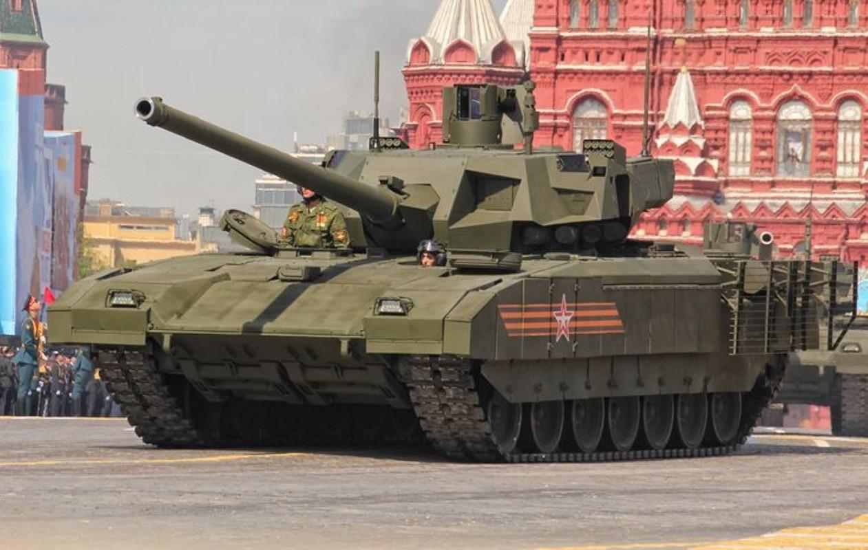 Soc: An Do doi mua 1770 sieu xe tang T-14 Armata tu Nga