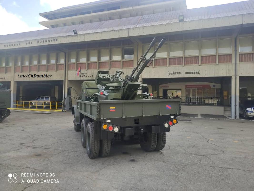 Bat chuoc Viet Nam, Venezuela bien ZU-23-2 thanh phao tu hanh