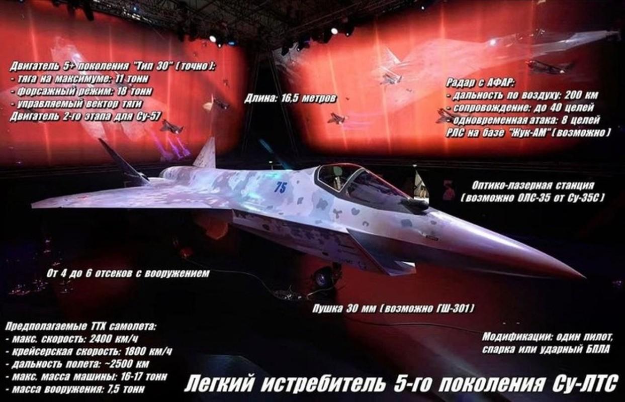 Tuong khong quan Nga giai thich vi sao Su-75 Checkmate khien phuong Tay so hai-Hinh-16