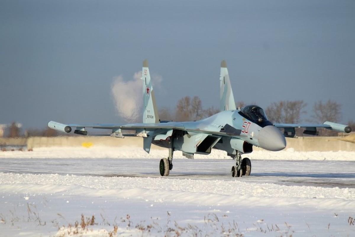 Suc manh may bay tiem kich Su-35 Nga vua gap nan-Hinh-11