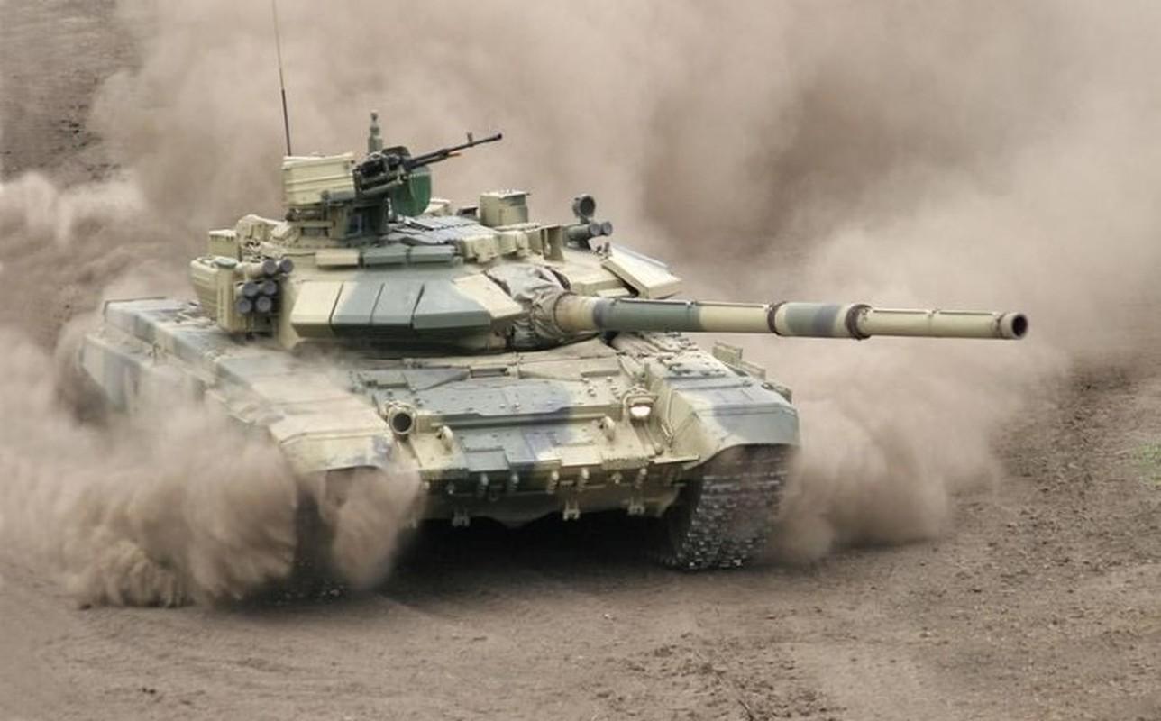 Soc: Phao binh Armenia nghien nat xe tang chu luc T-90 Azerbaijan-Hinh-11