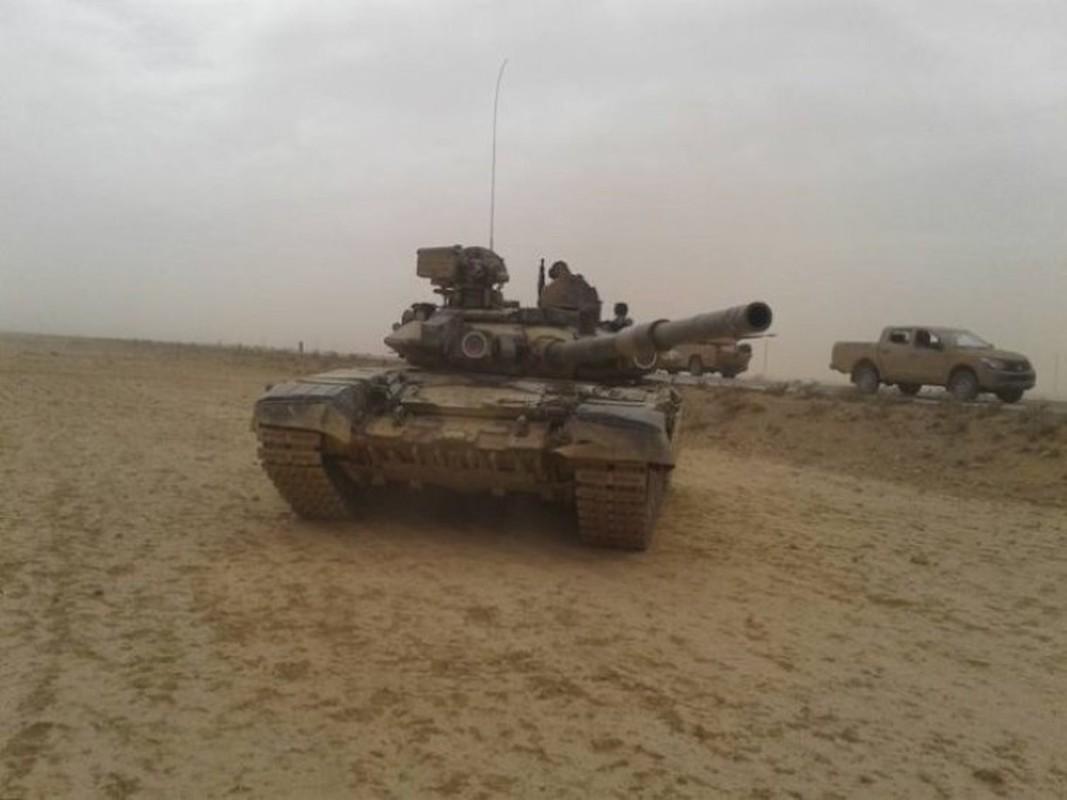 Soc: Phao binh Armenia nghien nat xe tang chu luc T-90 Azerbaijan-Hinh-12