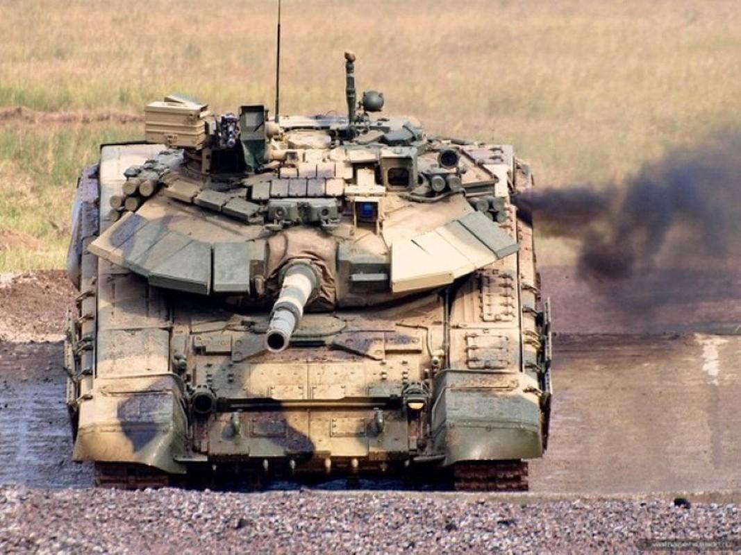 Soc: Phao binh Armenia nghien nat xe tang chu luc T-90 Azerbaijan-Hinh-8