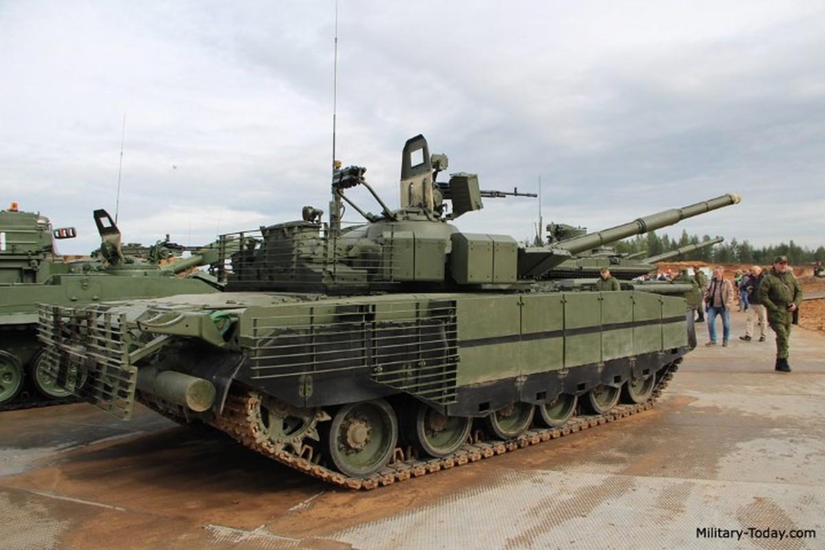Can canh nhung xe tang T-80BMV moi nhat Nga vua cho nhap bien-Hinh-7