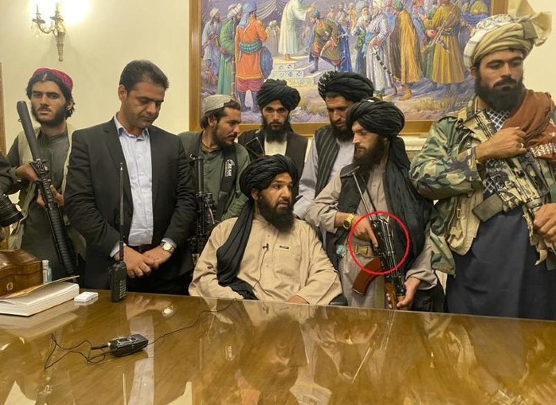 Taliban inside President office