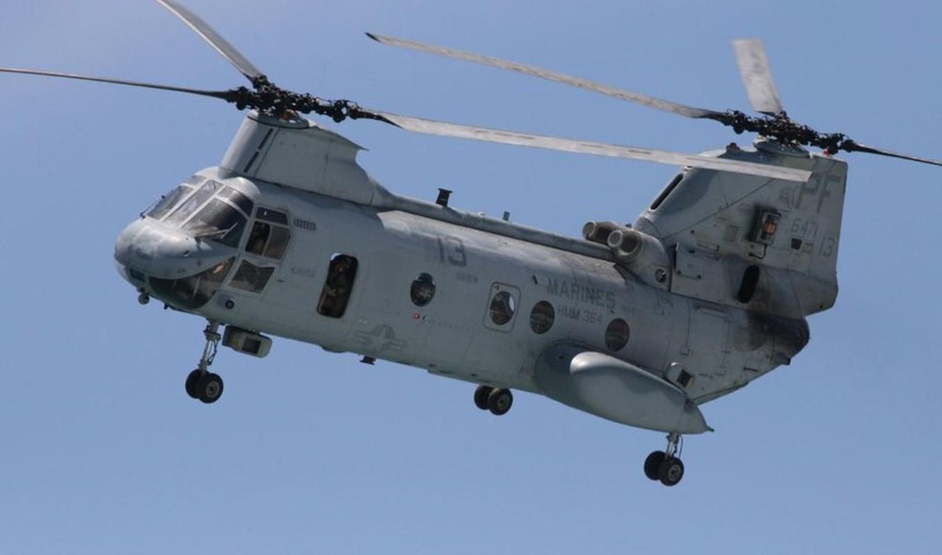 My pha huy 7 truc thang CH-46E sau khi chung buoc phai bo lai Kabul-Hinh-14
