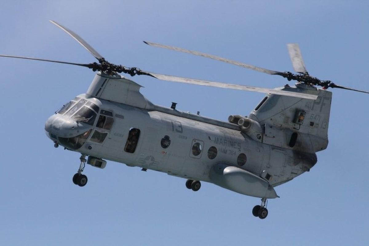 My pha huy 7 truc thang CH-46E sau khi chung buoc phai bo lai Kabul-Hinh-17