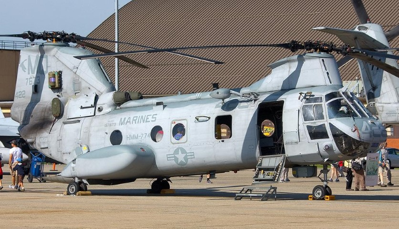 My pha huy 7 truc thang CH-46E sau khi chung buoc phai bo lai Kabul-Hinh-4