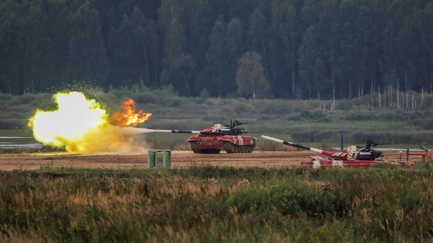 The le cuoc thi Xe tang hanh tien - Tank Biathlon tai Army Games 2021-Hinh-11