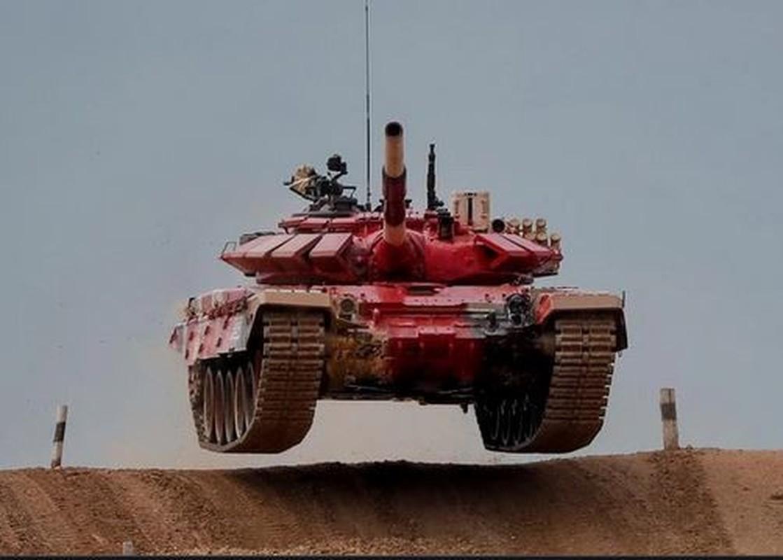 The le cuoc thi Xe tang hanh tien - Tank Biathlon tai Army Games 2021-Hinh-13