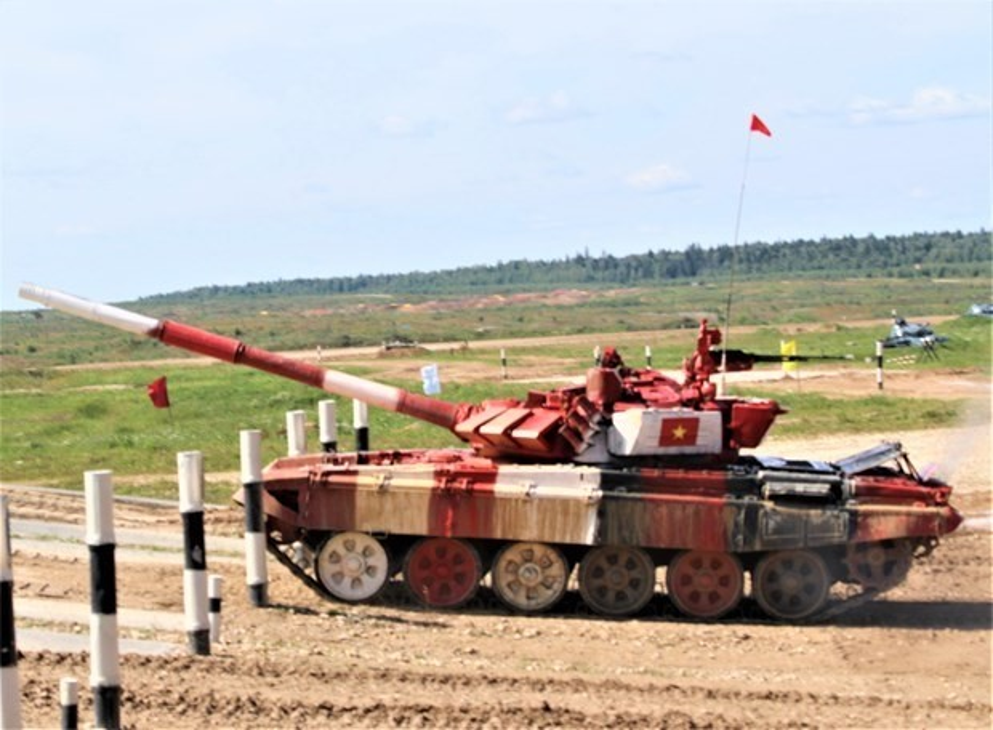 The le cuoc thi Xe tang hanh tien - Tank Biathlon tai Army Games 2021-Hinh-4