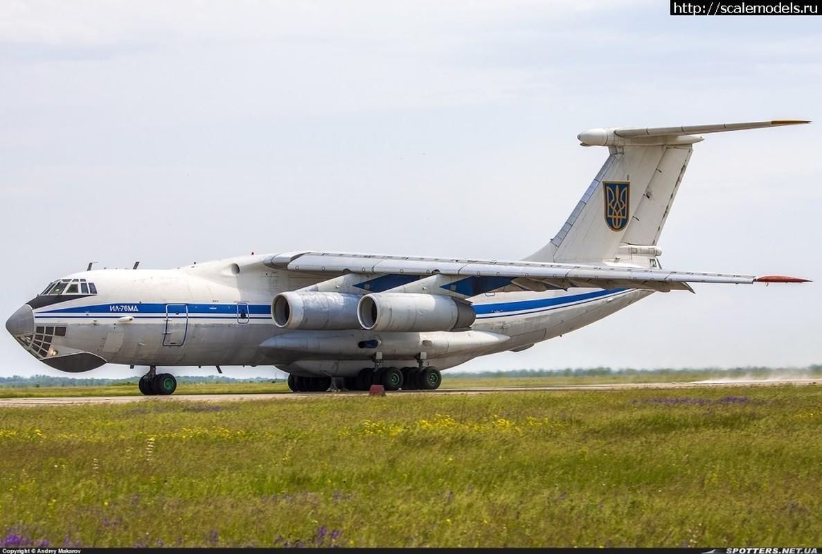 Phi cong Ukraine trom van tai co Il-76 o Afghanistan bay sang Iran ban-Hinh-2