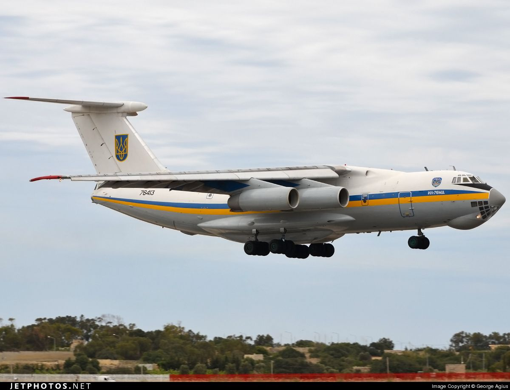 Phi cong Ukraine trom van tai co Il-76 o Afghanistan bay sang Iran ban-Hinh-9