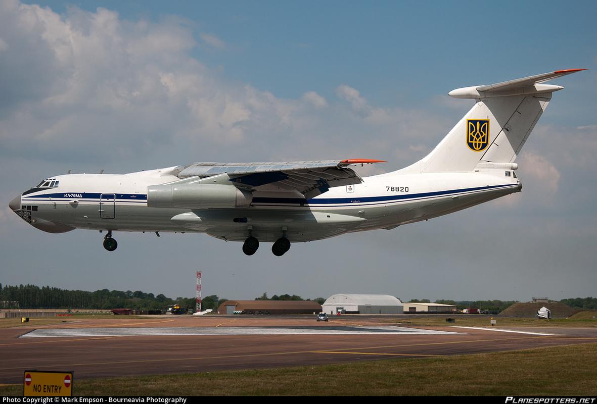 Phi cong Ukraine trom van tai co Il-76 o Afghanistan bay sang Iran ban