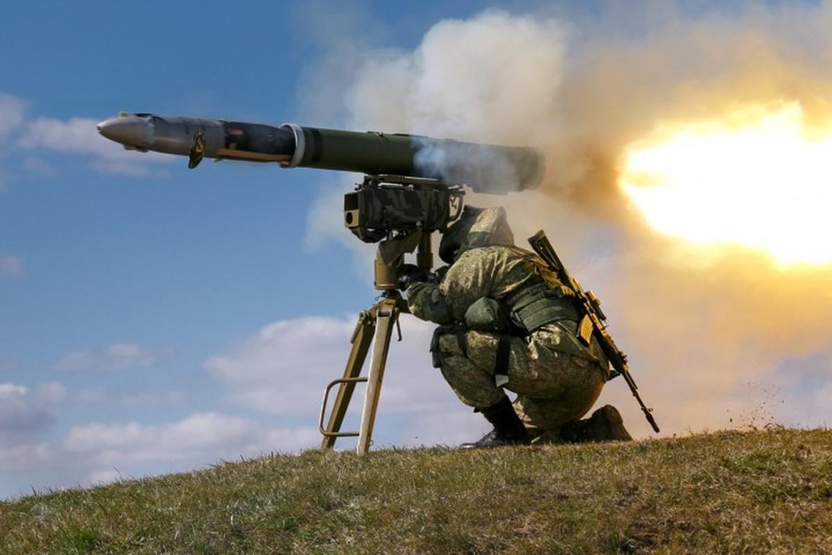 Lo Taliban tran qua bien gioi, linh Nga o Tajikistan trang bi gap Kornet-Hinh-7
