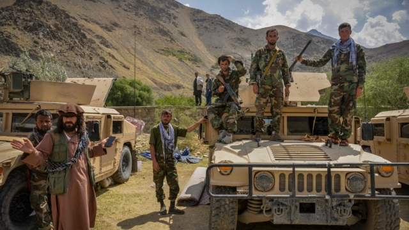 Quan khang chien Afghanistan phan bac Taliban, tuyen bo van chiem giua Panjshir-Hinh-7