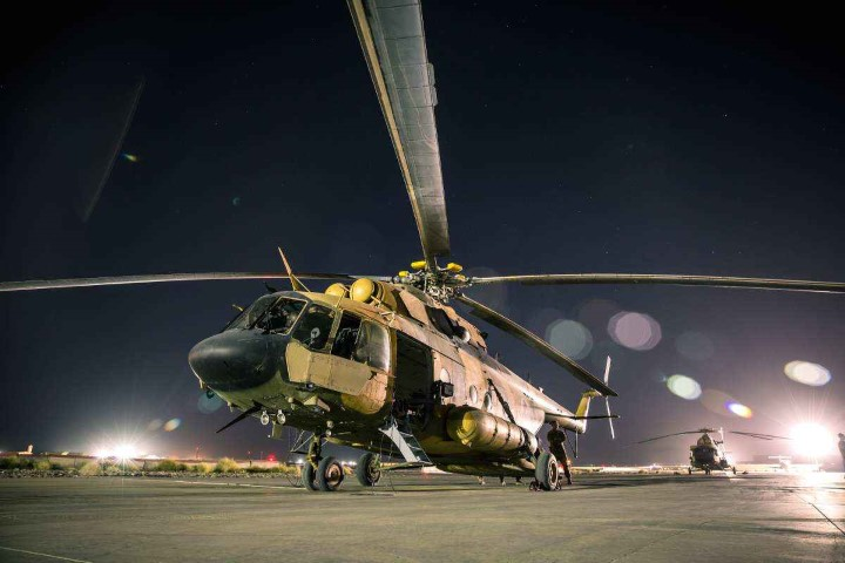 Afghanistan lan dau cho Mi-17 xuat tran, danh Taliban chay tan loan-Hinh-7