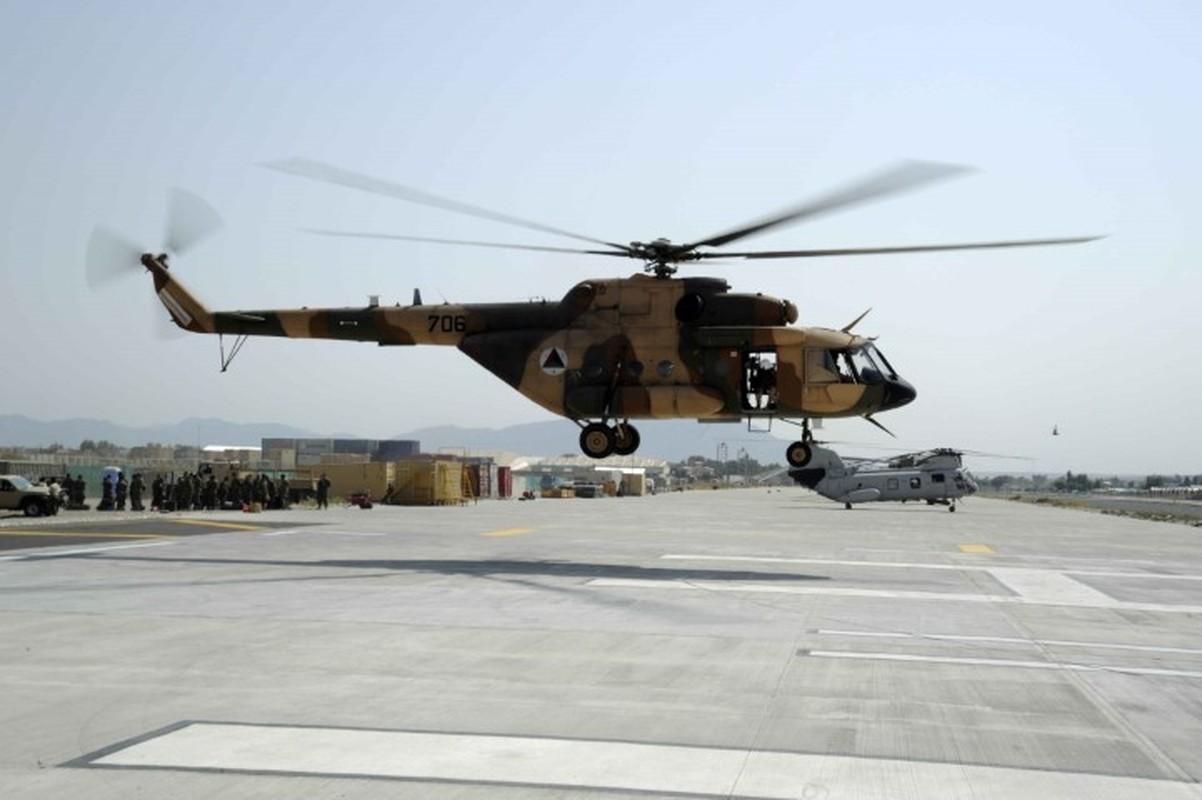 Afghanistan lan dau cho Mi-17 xuat tran, danh Taliban chay tan loan-Hinh-9