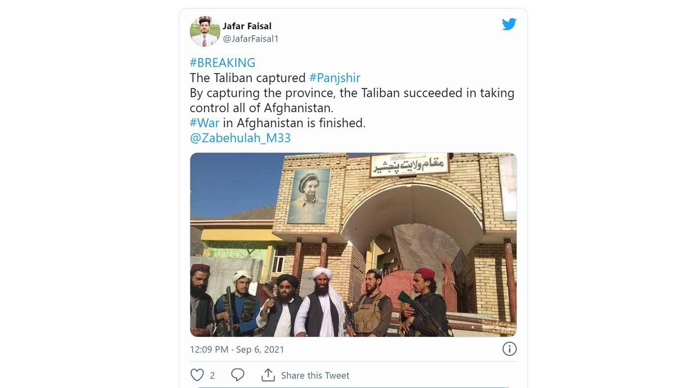 Thung lung Panjshir that thu, Taliban tuyen bo chien tranh cham dut-Hinh-3