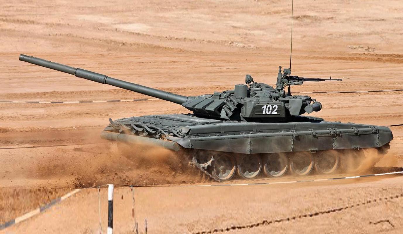 Nga bat ngo dieu 30 'sieu tang' T-72B3M ap sat bien gioi Afghanistan-Hinh-12