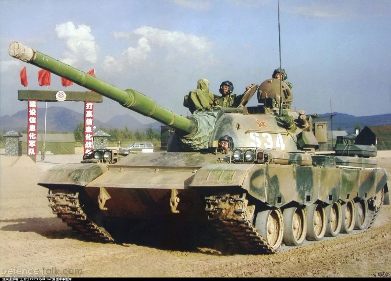 Xe tang Type 88 Trung Quoc tap tran rung chuyen sa mac Gobi-Hinh-9