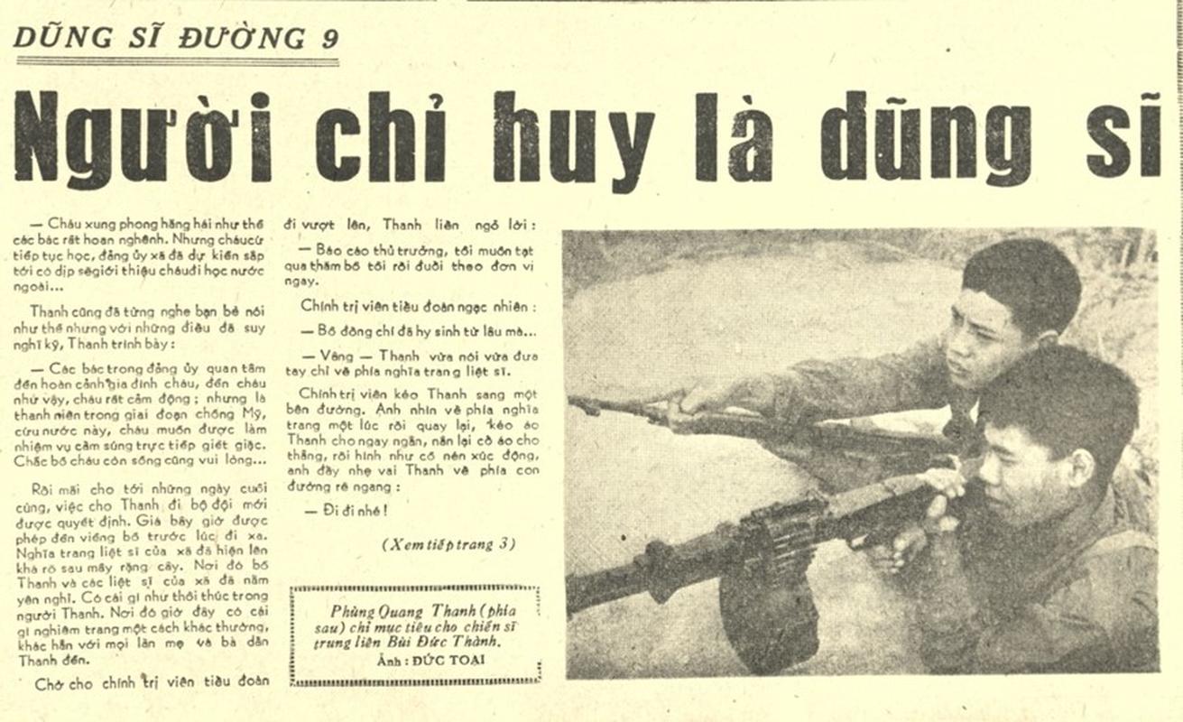 Hinh anh hiem ve dong chi Phung Quang Thanh thoi ky danh My-Hinh-3