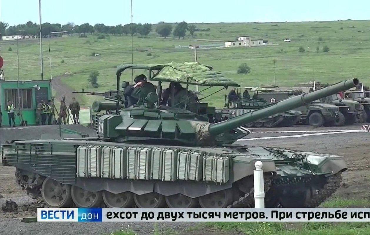 'Mai che' tren T-72B3 Nga vo tac dung truoc ten lua Javelin Ukraine-Hinh-3