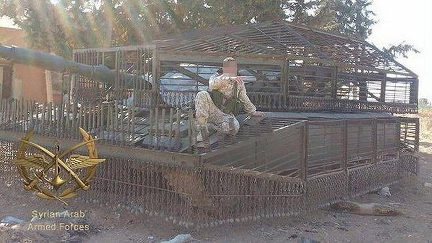'Mai che' tren T-72B3 Nga vo tac dung truoc ten lua Javelin Ukraine-Hinh-7