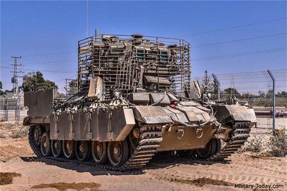 'Mai che' tren T-72B3 Nga vo tac dung truoc ten lua Javelin Ukraine-Hinh-9