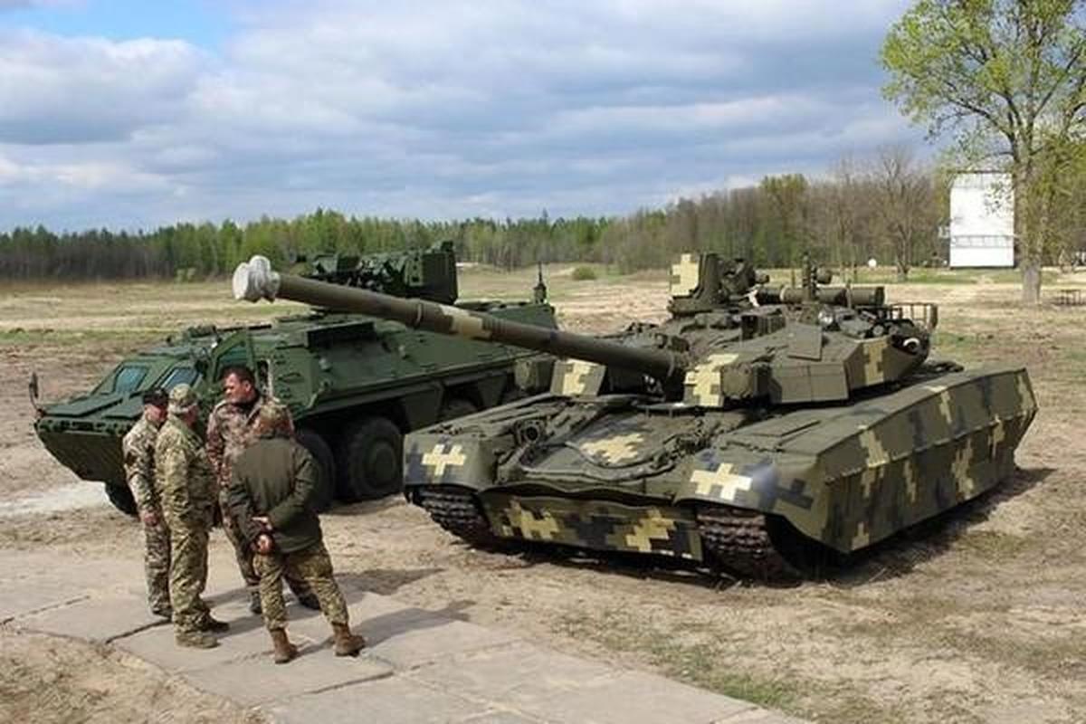 My mua T-84BM Oplot Ukraine de lam... bia cho M1 Abrams tap ban-Hinh-9