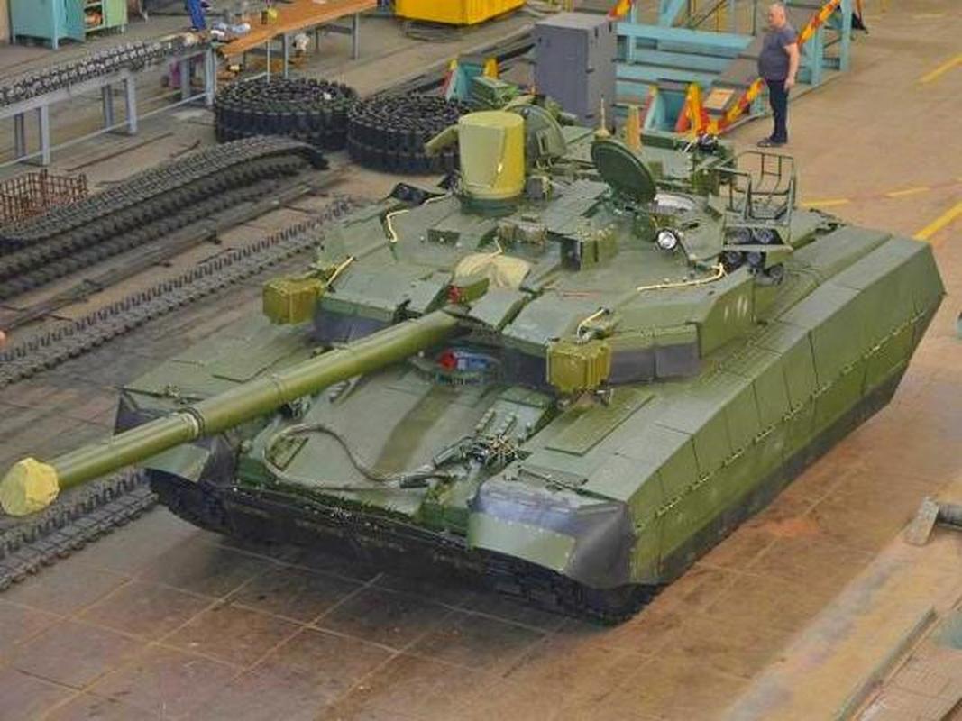 My mua T-84BM Oplot Ukraine de lam... bia cho M1 Abrams tap ban
