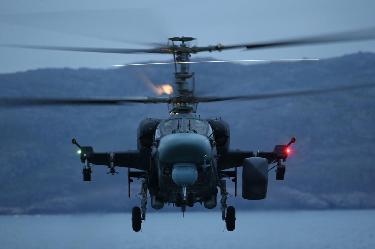 Truc thang vu trang Ka-52K da kiem duoc
