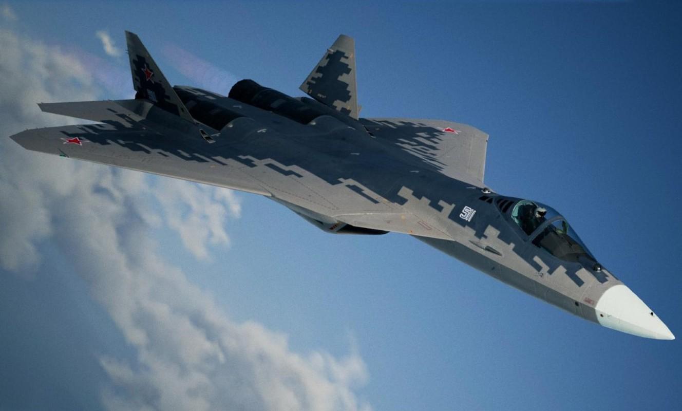 Bao My: Su-57 Nga se chien thang 'chim an thit' F-22 trong thuc chien-Hinh-11