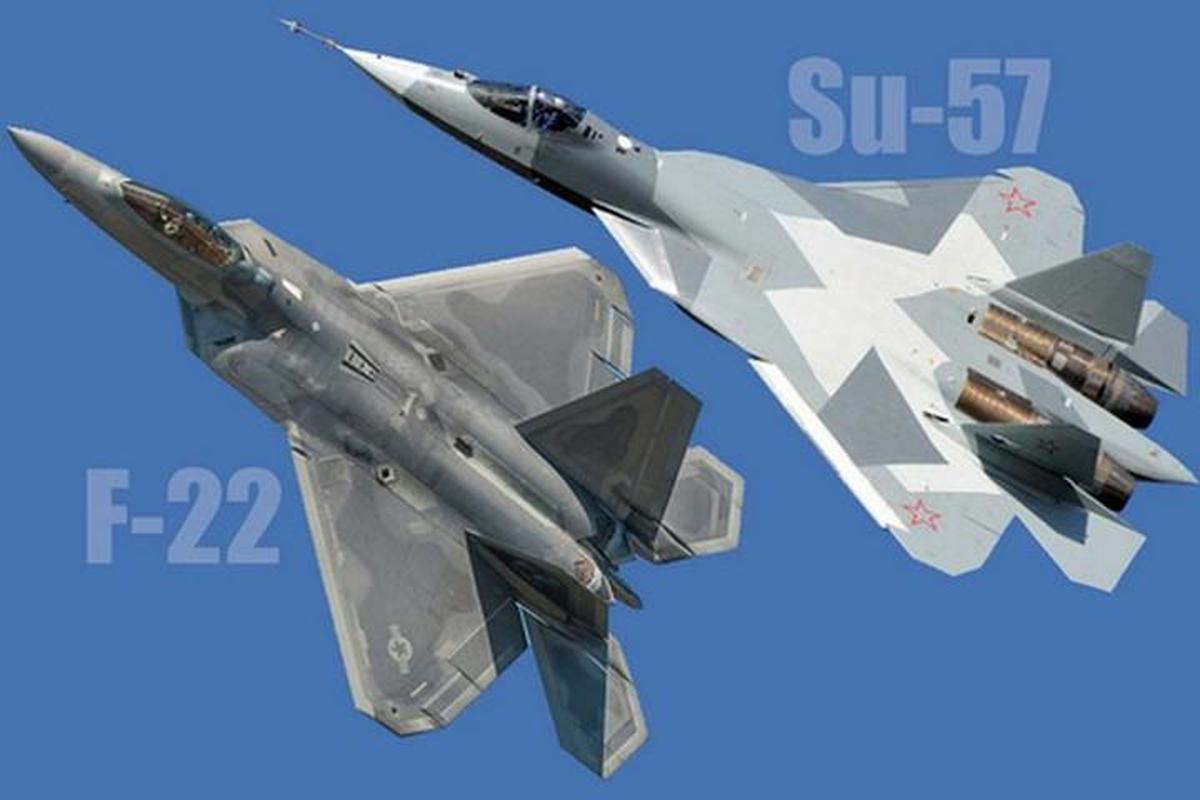 Bao My: Su-57 Nga se chien thang 'chim an thit' F-22 trong thuc chien-Hinh-2